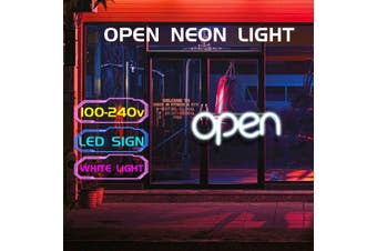 OPEN Neon Sign Light Beer Pub Party Home Room Wall Decoration 100-240V US Plug