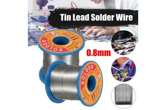 0.8mm 60/40 Tin Lead Soldering Wire Reel Rosin Core Solder 250g for Electrical Soldering