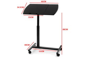 Adjustable Folding Portable 180 Degree Angle Rotating Table Desk Stand Sofa Bed Laptop Computer Notebook