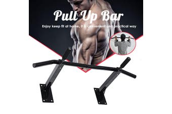 Heavy Duty Wall Mounted Chin Pull Up Bar Exercise Workout Fitness Gym Home