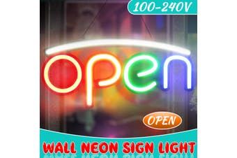 OPEN Neon Sign Light Beer Bar Pub Store Party Home Room Wall Decor 100-240V