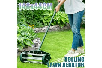 Push Spike Aerator Rolling Lawn Aerator Roller