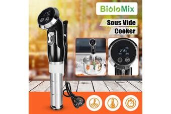 Bolomix Sous Vide Cooker Digital Timer Display Powerful Immersion Circulator
