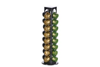 32PCS Coffee Rotatable Capsules Pod Stand Iron Chrome Holder Rack Stand For Home Bar Office Rrestaurant