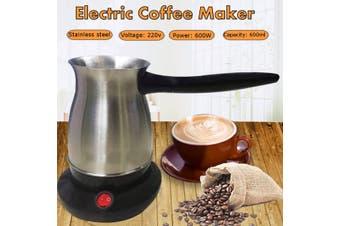600W 600ML Electric Espresso Coffee Machine Handy Portable Mocha Coffee Pot For Home