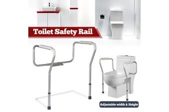 Drive Toilet Safety Frame Fixed Adjustable Support Surround Rail Toileting Aid