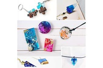 135PCS DIY Bracelet Pendant Epoxy Silicone Mold Set Jewelry Pendant Mould Craft