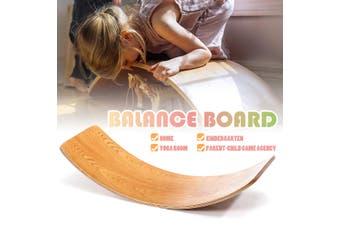 80CM Balance Board Wood Multifunctional Children Balance Beam Bridge Toys