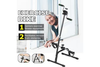 Exercise Bike Fitness Foot Pedal Cycling Equipment Home Indoor Gym For Elderly