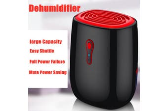 AUGIENB Mini Electric Dehumidifier Machine Intelligent Moisture-proof Device 500ml Water Tank Capacity / 300ml Maximum Dehumidification for≤ 20m3