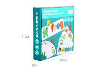 Word Spelling Game English Early Learning Cognitive Word Spelling Practice Fun C