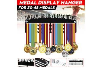 Personalised 5mm Acrylic 3Tier DREAM BELIEVE & ACHIEVE Medal Hanger/Holder/Rack