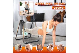 Home Dip Bar Pull Up Stand Chin-up Upper Body Fitness Station Exercise Workout