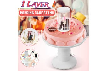 2In1 Surprise Popping Cake Stand Kids Birthday Cake Holder Wedding Party Decor U