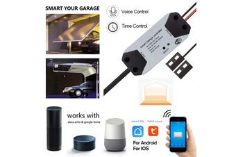 Smart WiFi Switch Garage Door Opener Controller Mobile Phone APP Remote Control Smart Home