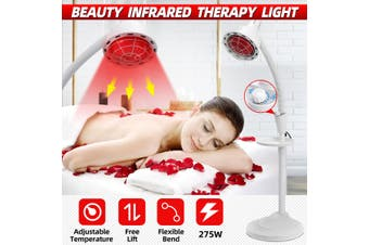 275W Floor Stand Infrared IR Temperature Light Therapy Heat Lamp Pain Relief