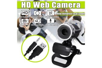 12 Megapixel HD USB Desktop Laptop Universal Digital Full Web Camera Video Recording Webcam with Microphone