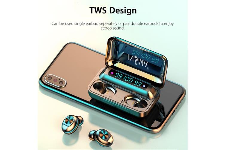 INSMA TWS bluetooth 5.0 Earphones LED Display Sport In-Ear Stereo Headset Earbud