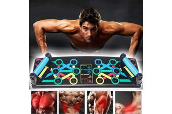 14 in1 Push-up Board Stand Fitness Workout System Gym Muscle Training Exercise