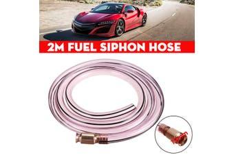 "3/4"" 19mm x 2m PVC Fuel Siphon Hose Copper Jiggler Jiggle Siphon Pump Water Pipe"