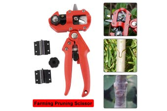 2-in-1 Garden Grafting Tool Set Kit Fruit Tree Pro Pruning Shears Garden Scissor Cutting Tool Garden Shears