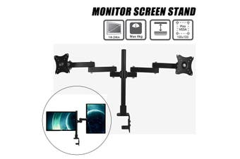 XD50 - 400 Dual Monitor Mount Monitor Desk Mount Stand Bracket For 14-27 inch Screens
