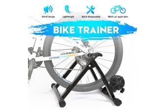 Home Bike Training Rollers Folding 24-29 Inch 700C Adjustable Resistance MTB Training Roller Exercise Road Trainer Rack Indoor ,Max Bearing 150KG