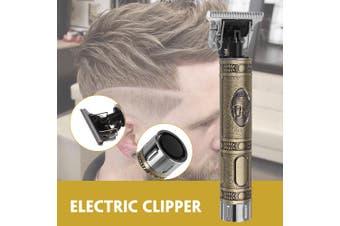 Bronze Buddha Head Carving Clipper Retro Mini Haircut Artifact Electric Clipper