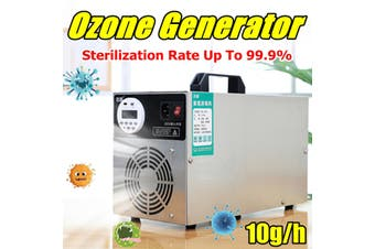 Portable 220V Ozone Generator 10g/h Ozonizer Air Water Purifier Sterilizer 150W