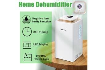 2700ML 220V Intelligent Dehumidifier Moisture Absorber Air Purifier Home Office Air Purify Dryer Machine(#7)