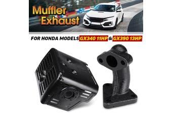 Muffler Exhaust Nut Assembly For Honda GX340 GX390 11HP & 13HP W/ Manifold