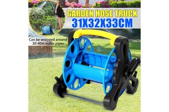 Ashing Water Rack Hose Reel Garden Portable 30-40 Meter Watering Pipe Cart
