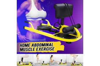 Abdominal Squat Rack Sit-up Stand Home Gym Hip Exercise Equipment Gym Tool+ 2 Ropes + Balance Board