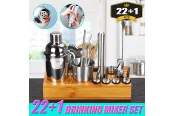 22 IN 1 Cocktail Shaker Set Bartender Shaker Making Kit Bar Drink Gift
