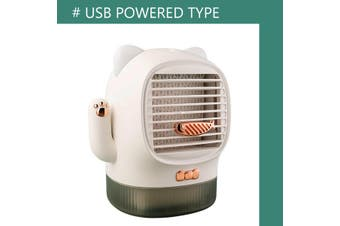 Mini Air Conditioner Fan Air Cooler Office Cool Mobile USB Desktop Humidifier