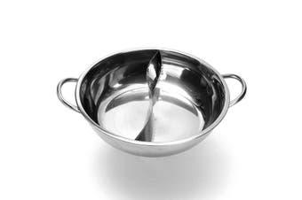 40cm Twin Mandarin Duck Hot Pot Hotpot Induction Cooker Cookware Home/Commercial