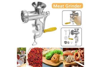 【Aluminum Alloy】(6cm) Heavy Duty Multi-function Noodle Maker Meat Grinder Mincer Stuffer Hand Manual Sausage Filler Sauce Maker Machine