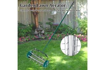 New Practical Household Garden Lawn Aerator Roller With Mudguard Garden Tools