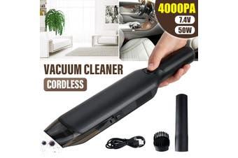 4000PA 50W Cordless Handheld Vacuum Cleaner Portable Wet Dry Car Home 4000mAh