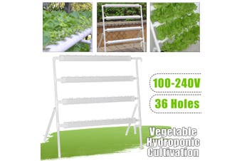 Hydroponic System Pots to Grow Kit Equipment Garden Vegetables Planting