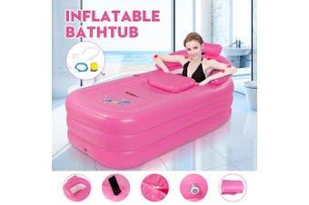Inflatable Adult Bath Tub Portable SPA PVC Warm Bathtub Blow Up Travel Bath Pool(Only Pump)