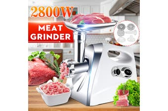2800W 220V Electric Meat Grinder Sausage Maker Food Filler Kibbe Mincer