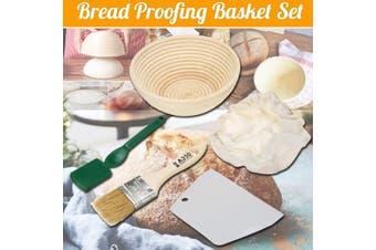 Bread Proofing Basket Set Rattan Fermented Bread Basket Proofing Basket