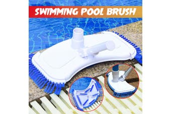Swimming Pool Suction Vacuum Cleaner Head Outdoor Dirt Cleaning Brush Flexible