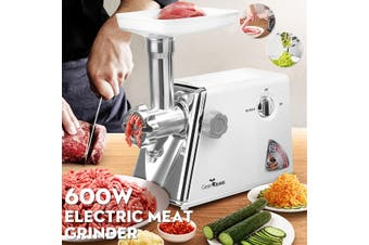 2020 NEW Electric Meat Grinder Mincer Sausage Stuffer With 3 Stainless Steel Grinding Plates And Sausage Stuffing Tubes