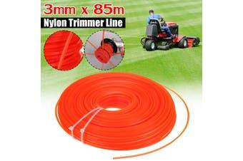3mm x 85m Nylon Trimmer Strimmer Line Brushcutter Cord Rope Orange