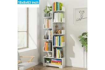 11 Tier Display Shelf Shelves Storage Bookshelf Bookcase Ladder Stand Rack