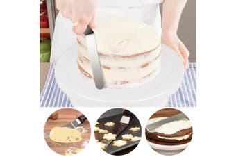6PCS/Set Plastic Cake Stand Turntable Rotating Rack Dough Rotary Table DIY
