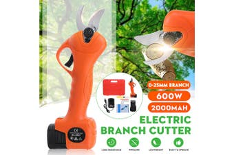 Electric Branch Cutter Pruning Cuting High Quality 0- 25mm Tree Branch Cutter+ Free Box(Tree Branch Cutter without Battery)