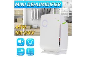 220v 1.5L Portable Dehumidifier Silent (White 48W) Home Office small Dehumidifier Moisture Absorption Air Dryer Purifier